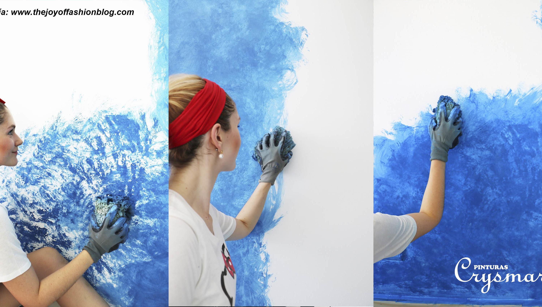 Pinturas Crysmar Como Realizar Un Efecto Ombre En Tus Paredes - Pinturas-en-paredes