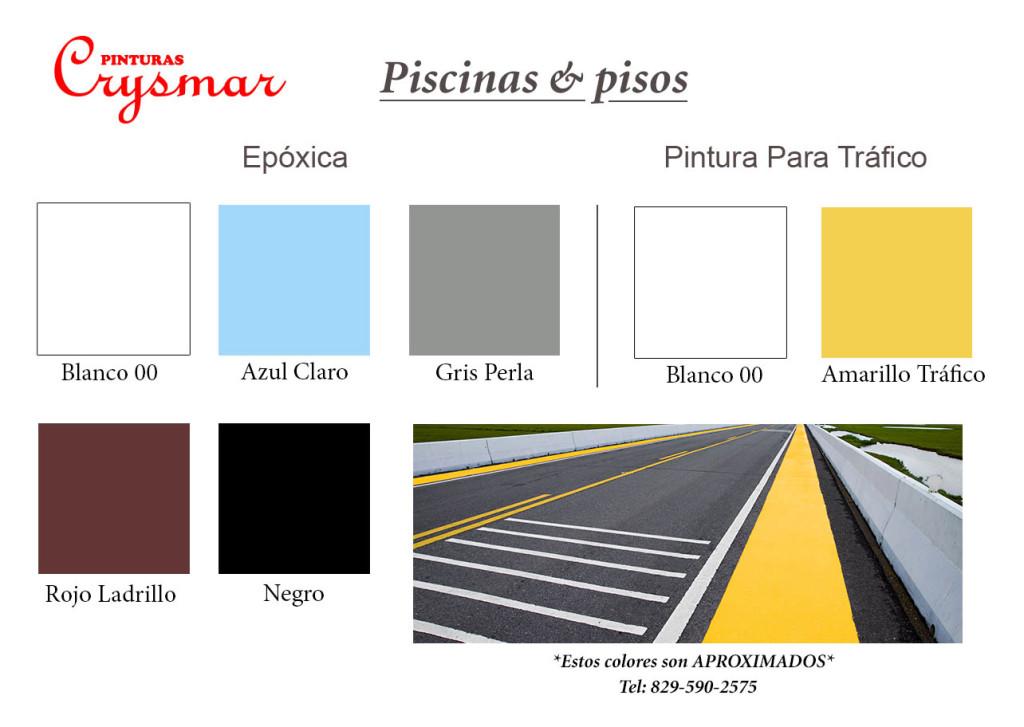 Pinturas Crysmar | Carta de Colores - Pinturas Crysmar